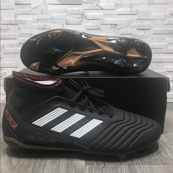 3bad9fa1aab4b4 Adidas Predator 18.3 FG Mens Soccer Cleats Sz 10.5